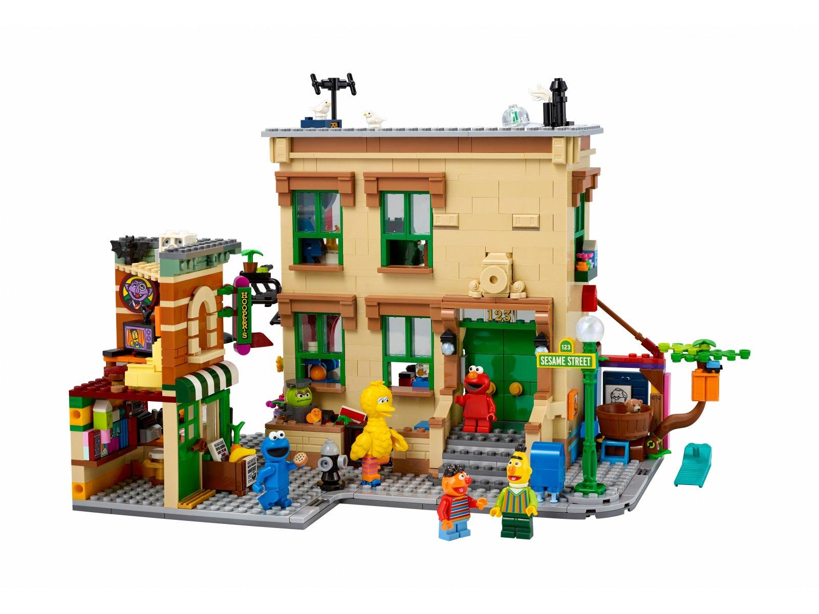 LEGO 21324 123 Sesame Street