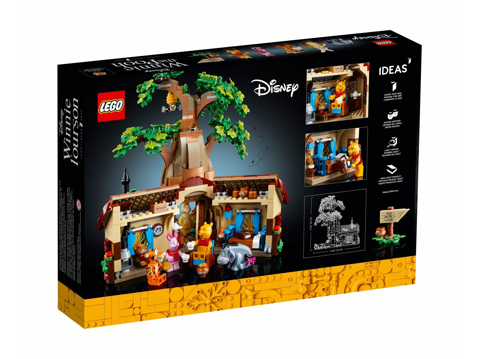 LEGO 21326 Ideas Kubuś Puchatek