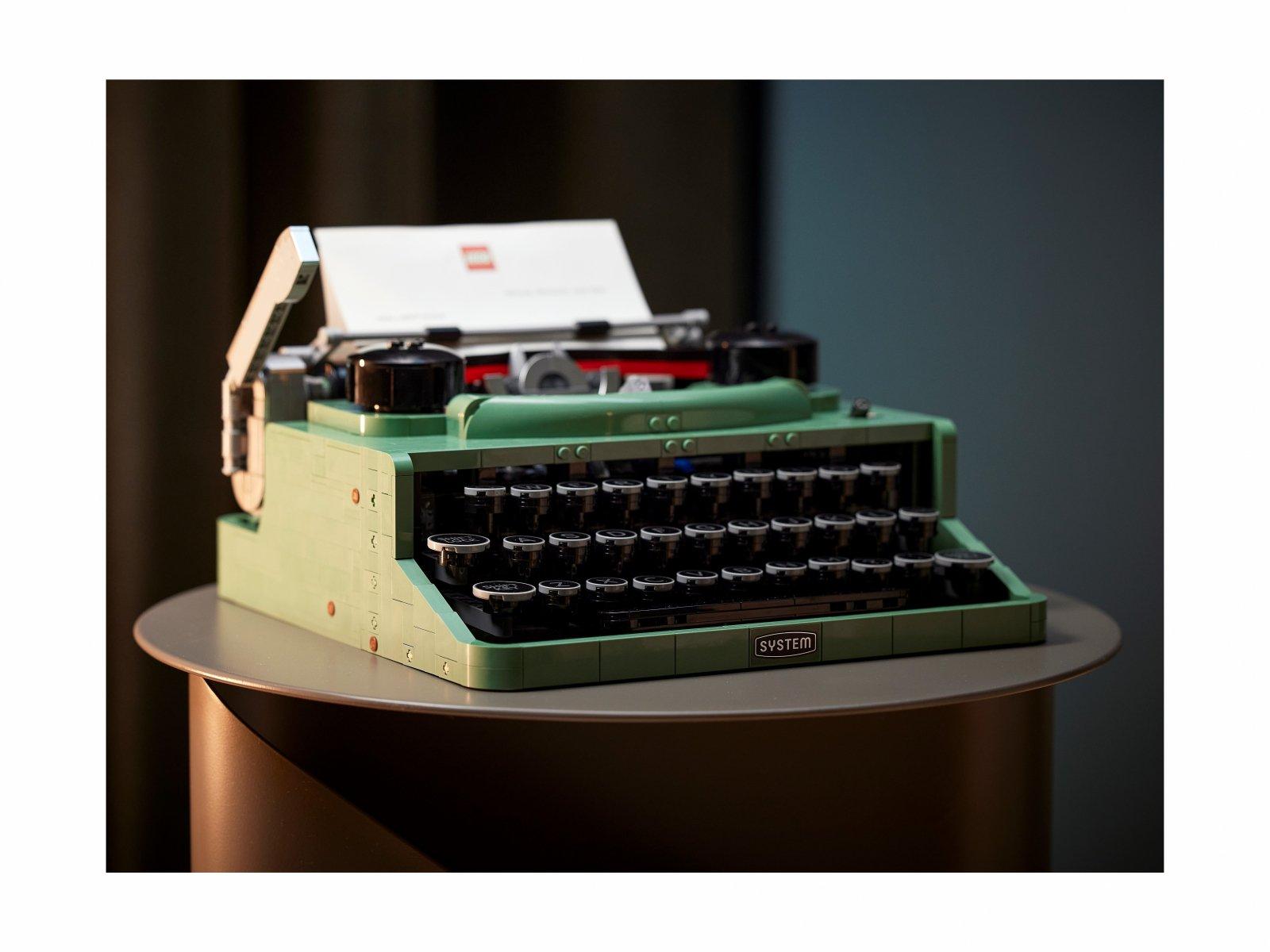 LEGO Ideas 21327 Maszyna do pisania