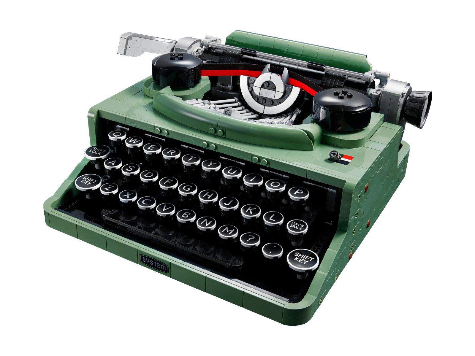 LEGO Ideas Maszyna do pisania 21327
