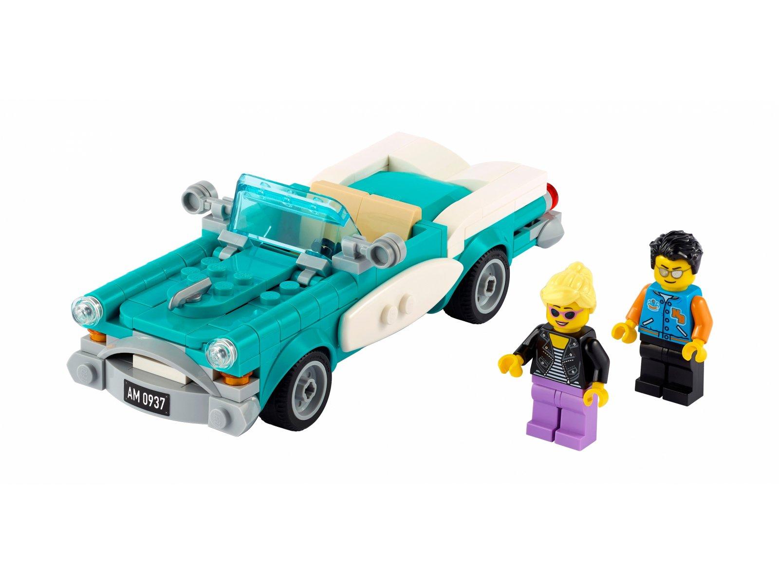 LEGO Ideas Zabytkowy samochód 40448