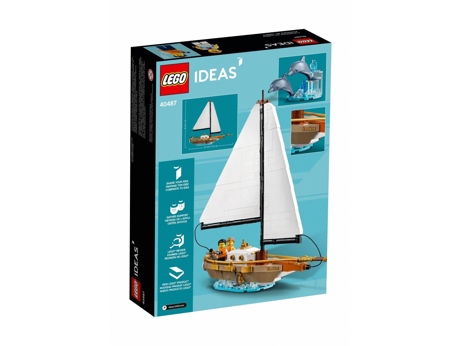 LEGO Ideas 40487 Przygoda na żaglowcu