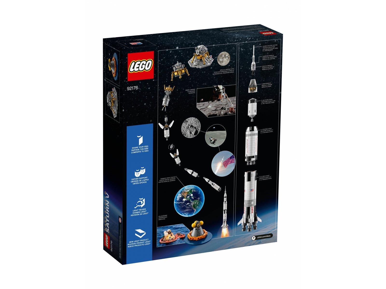 LEGO Ideas 92176 Rakieta NASA Apollo Saturn V