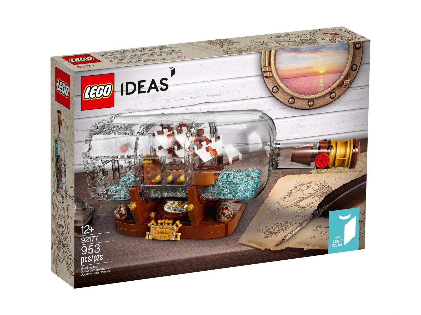 LEGO 92177 Statek w butelce