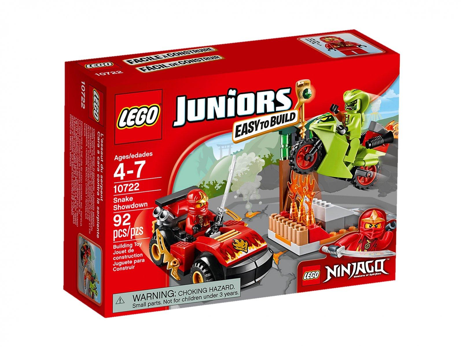 LEGO Juniors 10722 Starcie z wężem