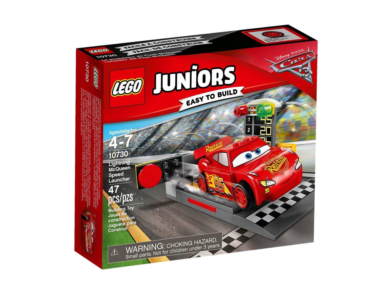 LEGO 10730 Juniors Katapulta Zygzaka McQueena