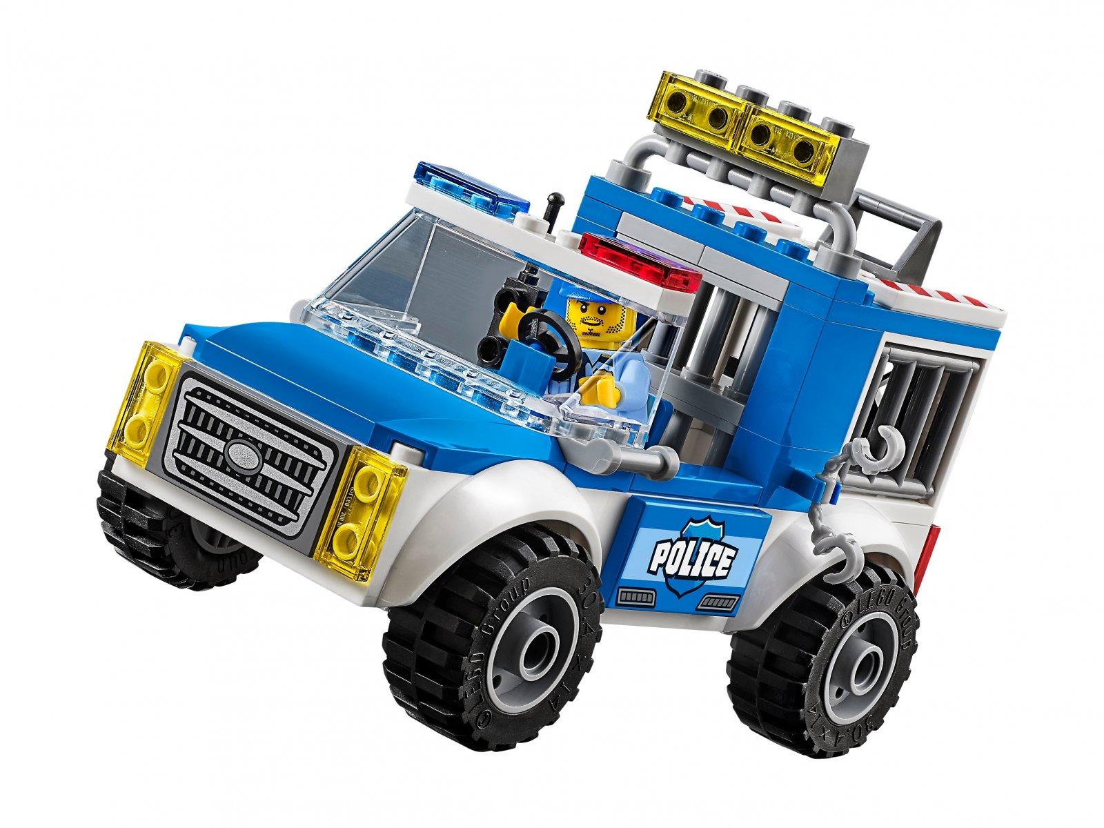 LEGO 10735 Juniors Pościg furgonetką policyjną