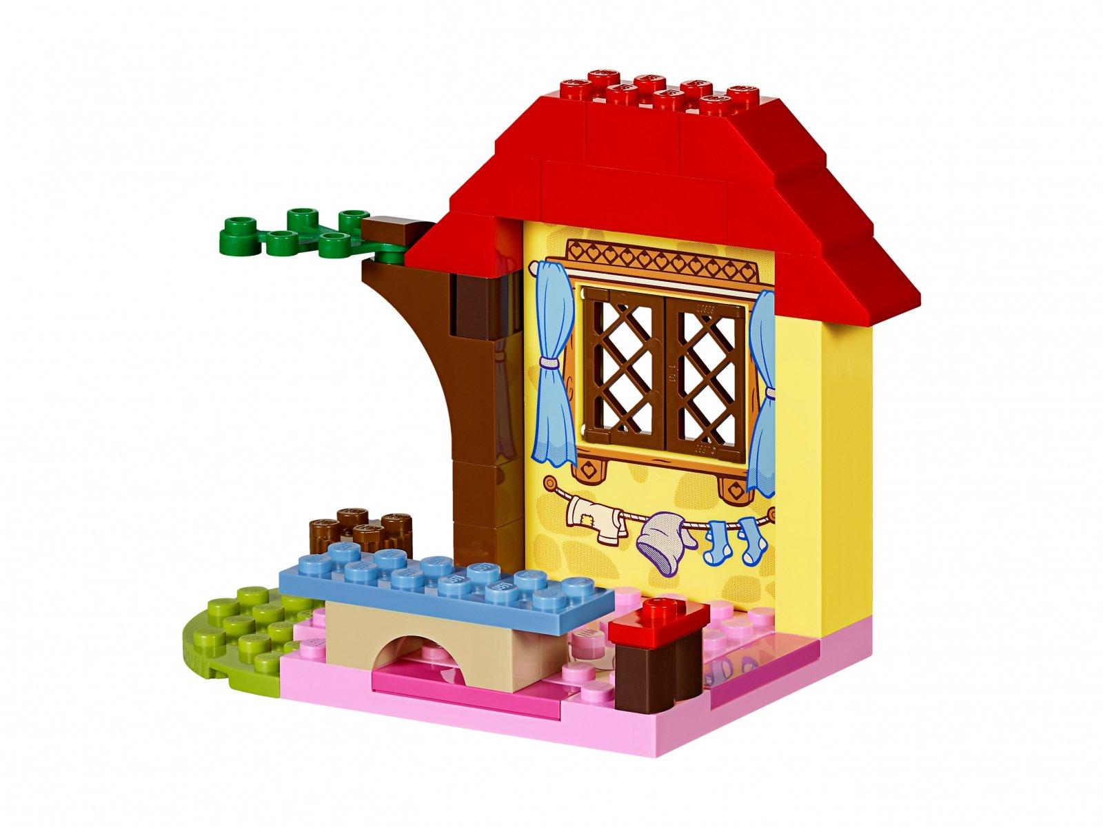 LEGO Juniors Leśna chata Królewny Śnieżki