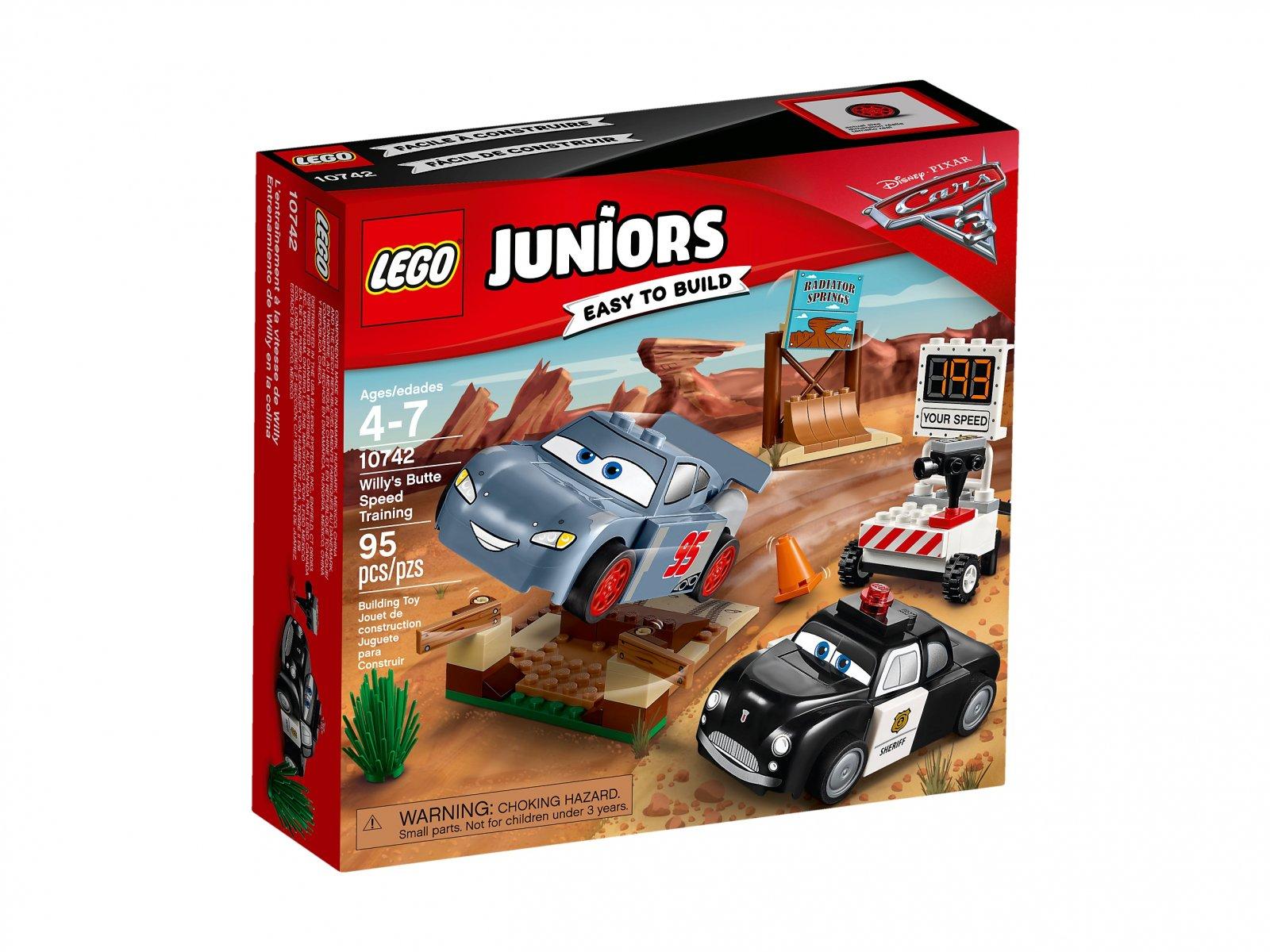 LEGO 10742 Juniors Trening szybkości