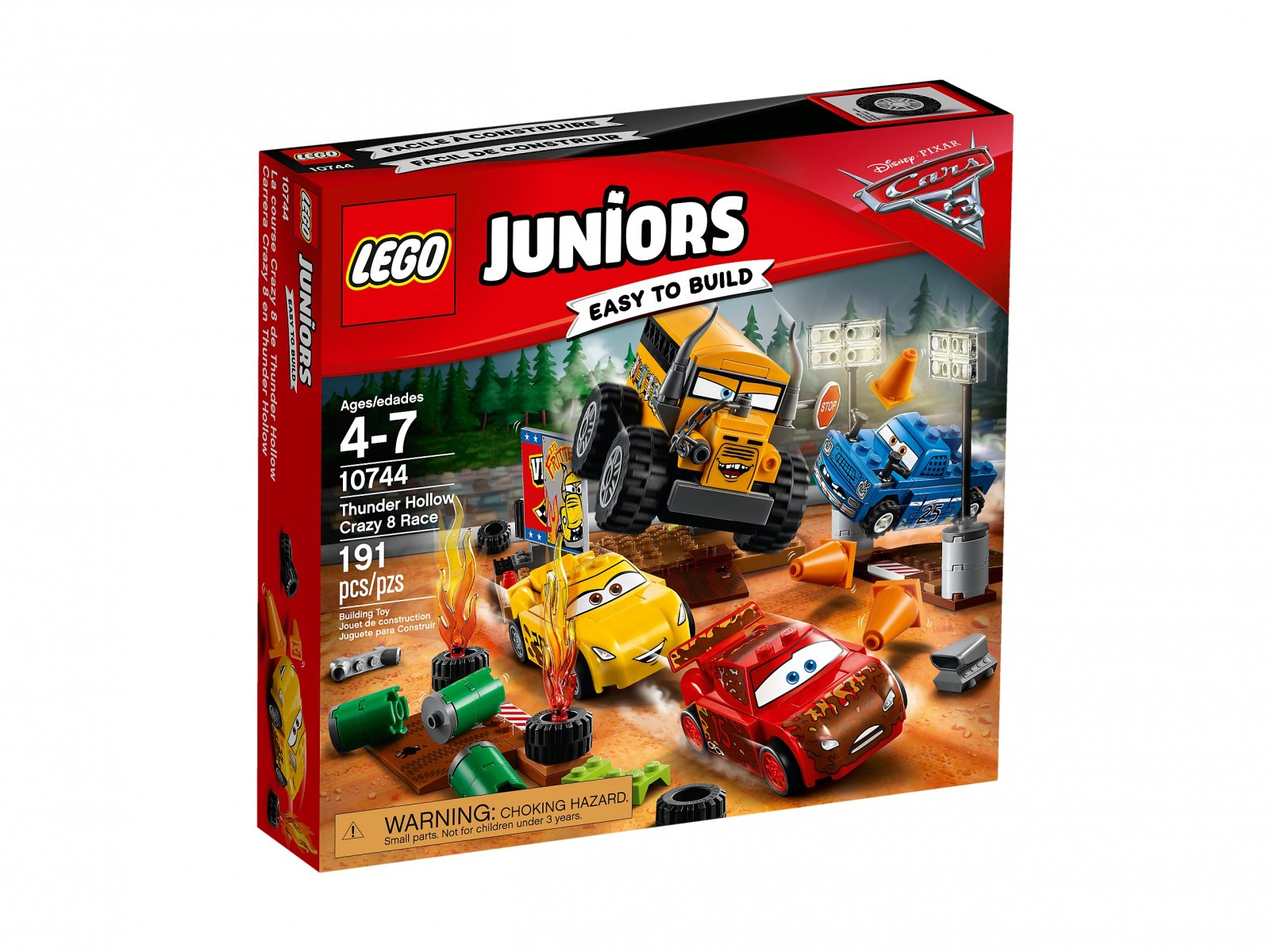 LEGO 10744 Juniors Szalona ósemka w Thunder Hollow