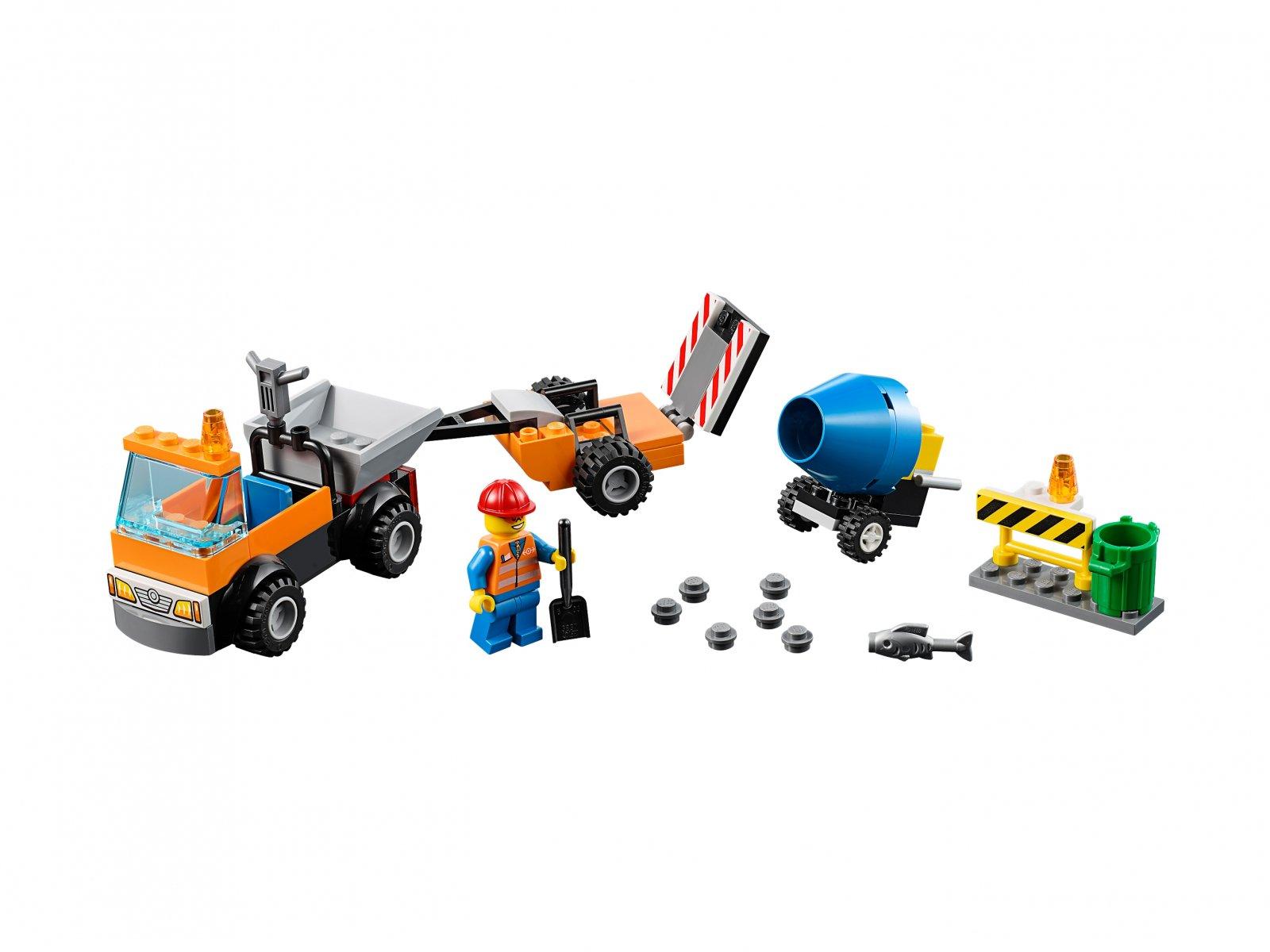 LEGO Juniors Samochód robót drogowych