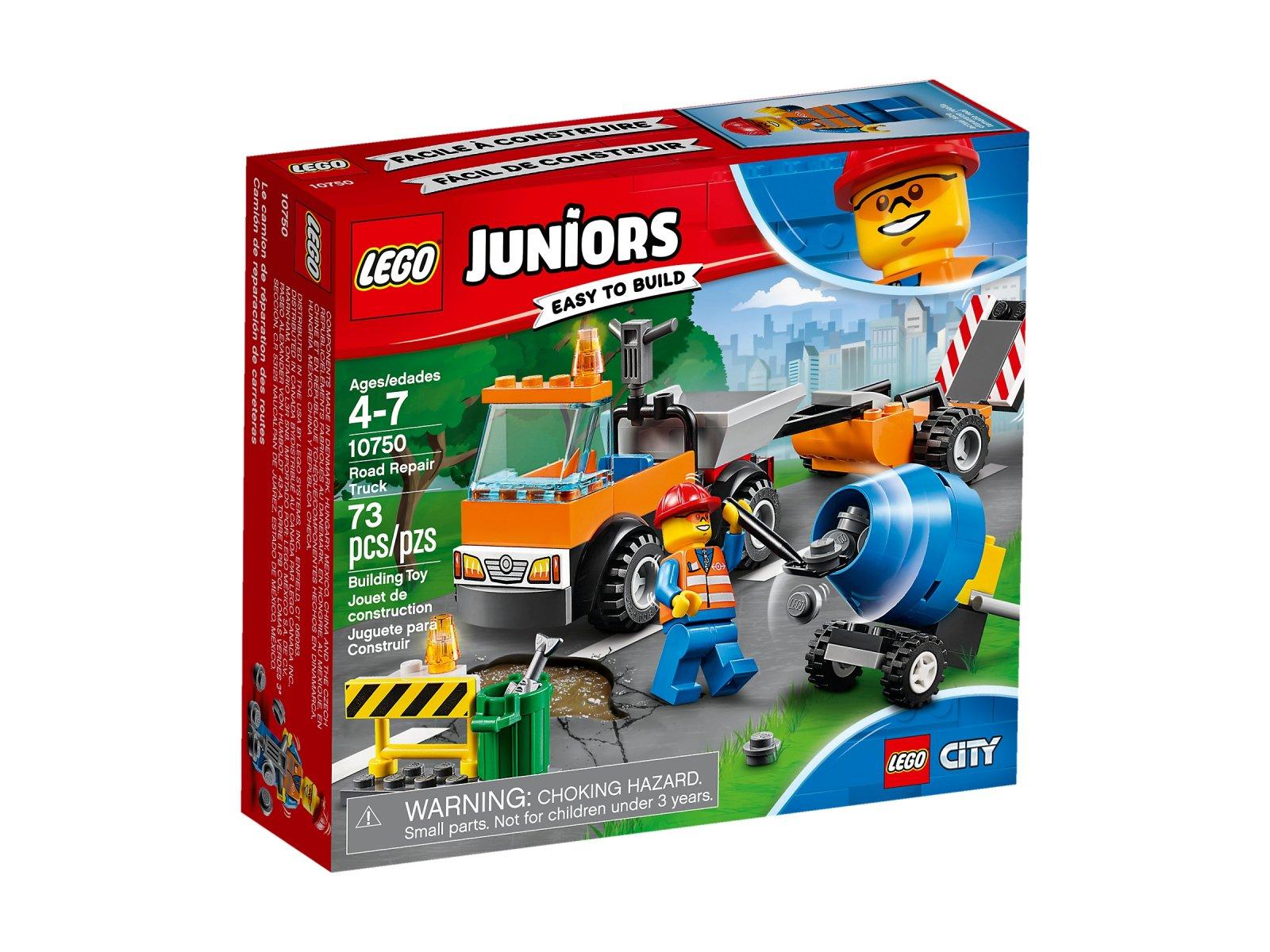 Lego 10750 Juniors Samochód Robót Drogowych Zklockówpl