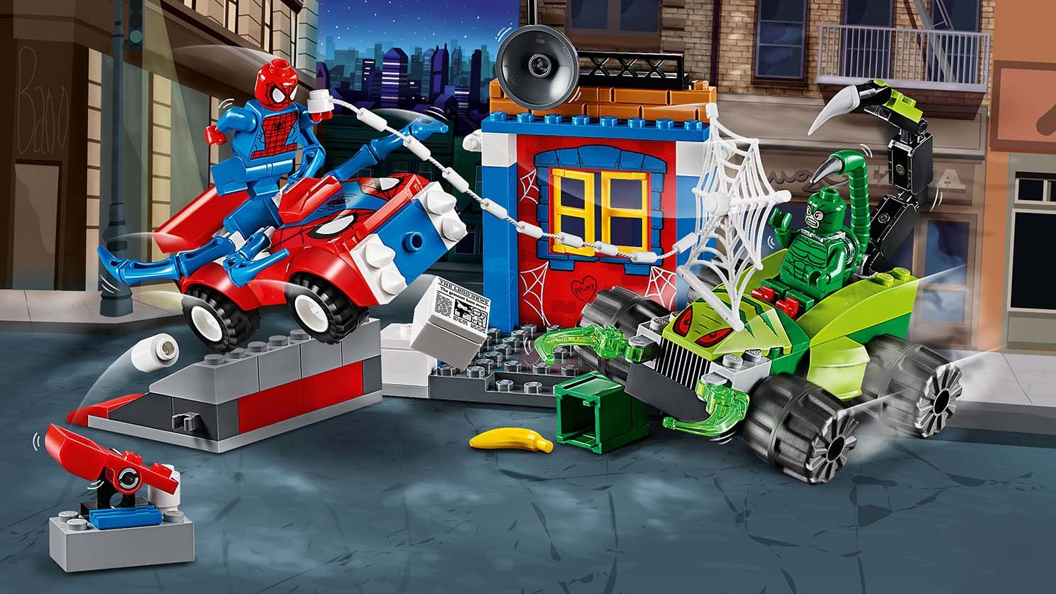 LEGO Juniors Spider-Man kontra Skorpion 10754