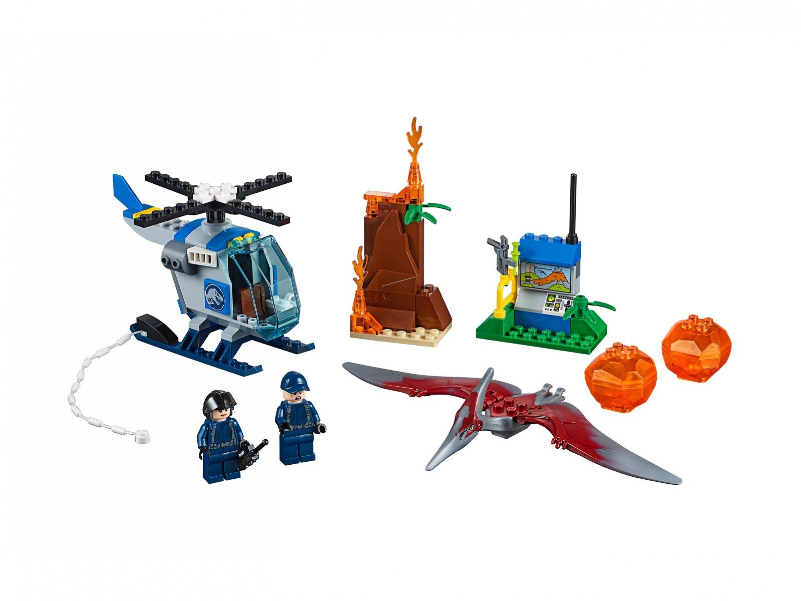Lego 10756 Juniors Ucieczka Przed Pteranodonem Zklockówpl
