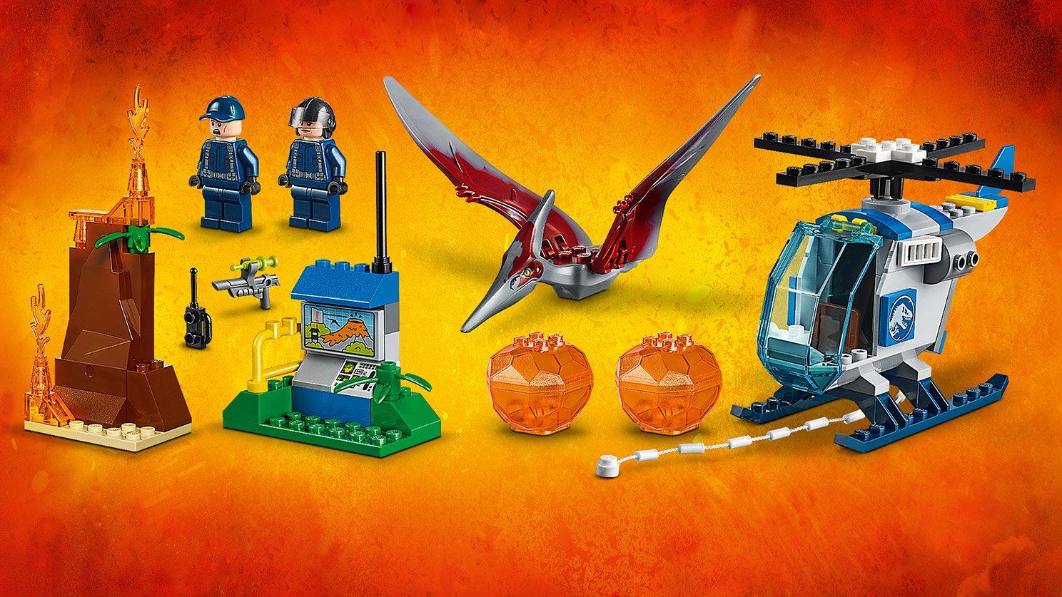 LEGO Juniors Ucieczka przed pteranodonem