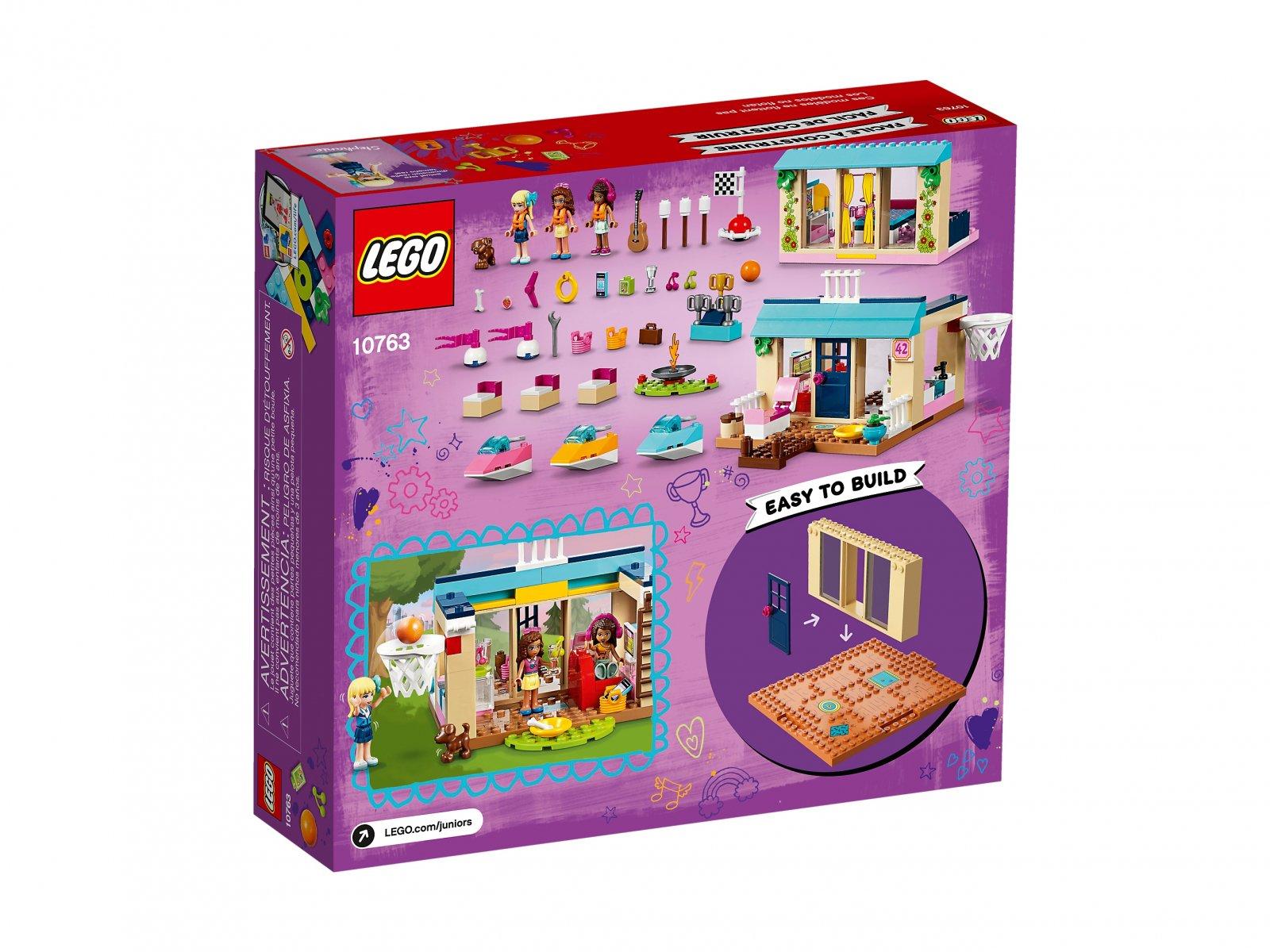 LEGO 10763 Domek nad jeziorem Stephanie