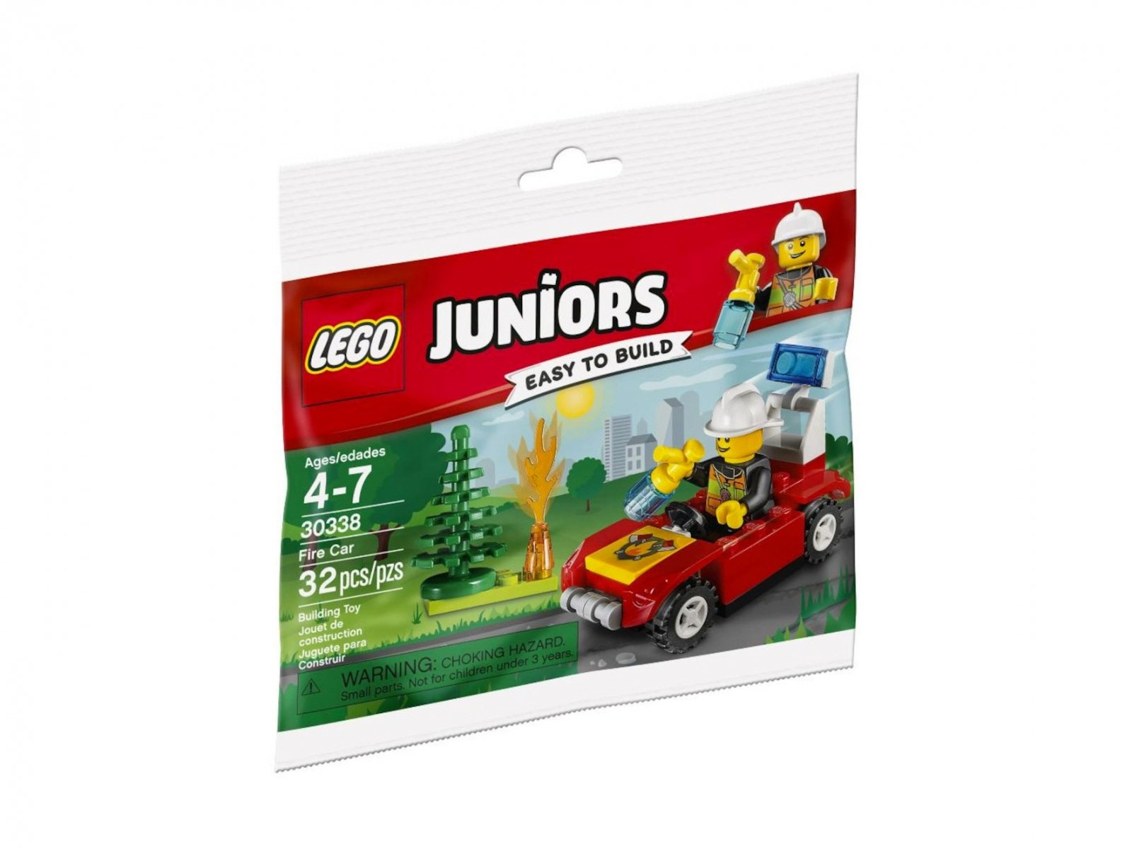 Lego 30338 Juniors Samochód Strażacki Zklockówpl