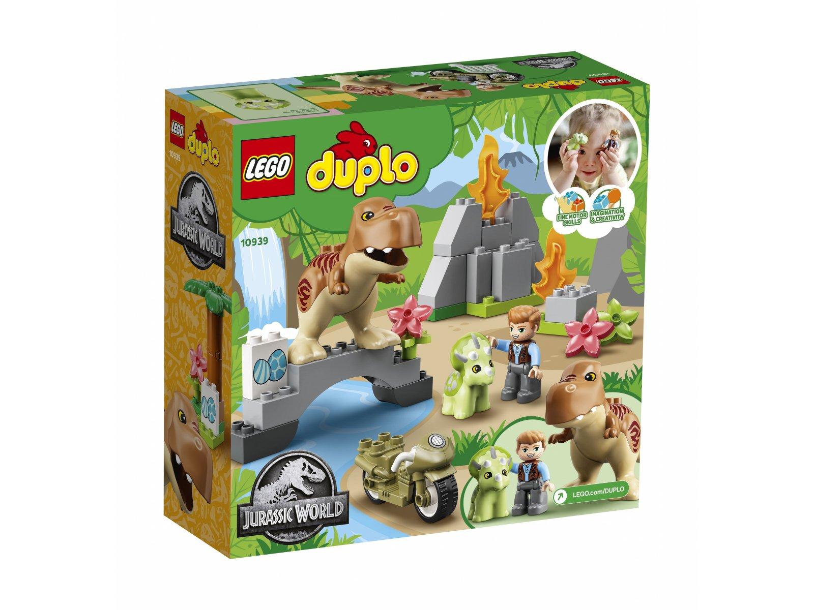 LEGO 10939 Jurassic World Ucieczka tyranozaura i triceratopsa
