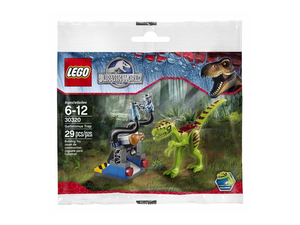 LEGO 30320 Jurassic World™ Gallimimus Trap