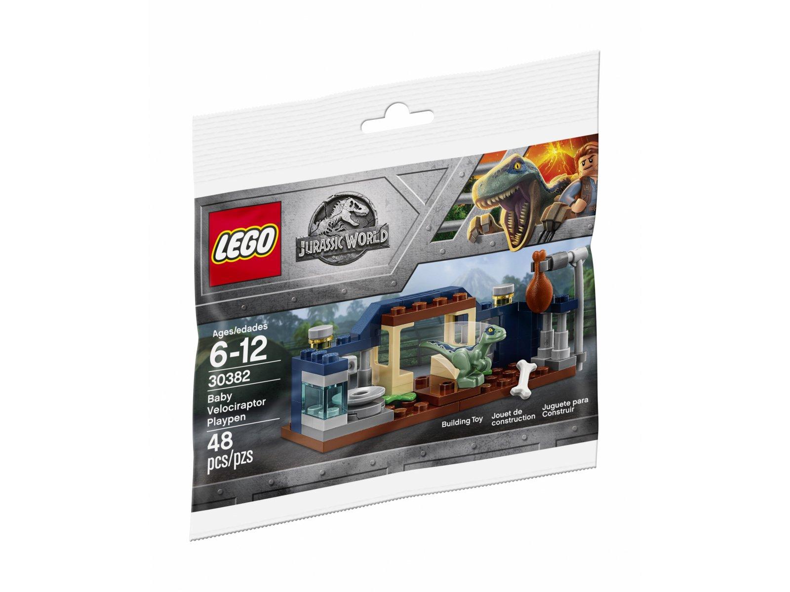 LEGO Jurassic World™ 30382 Baby Velociraptor Playpen