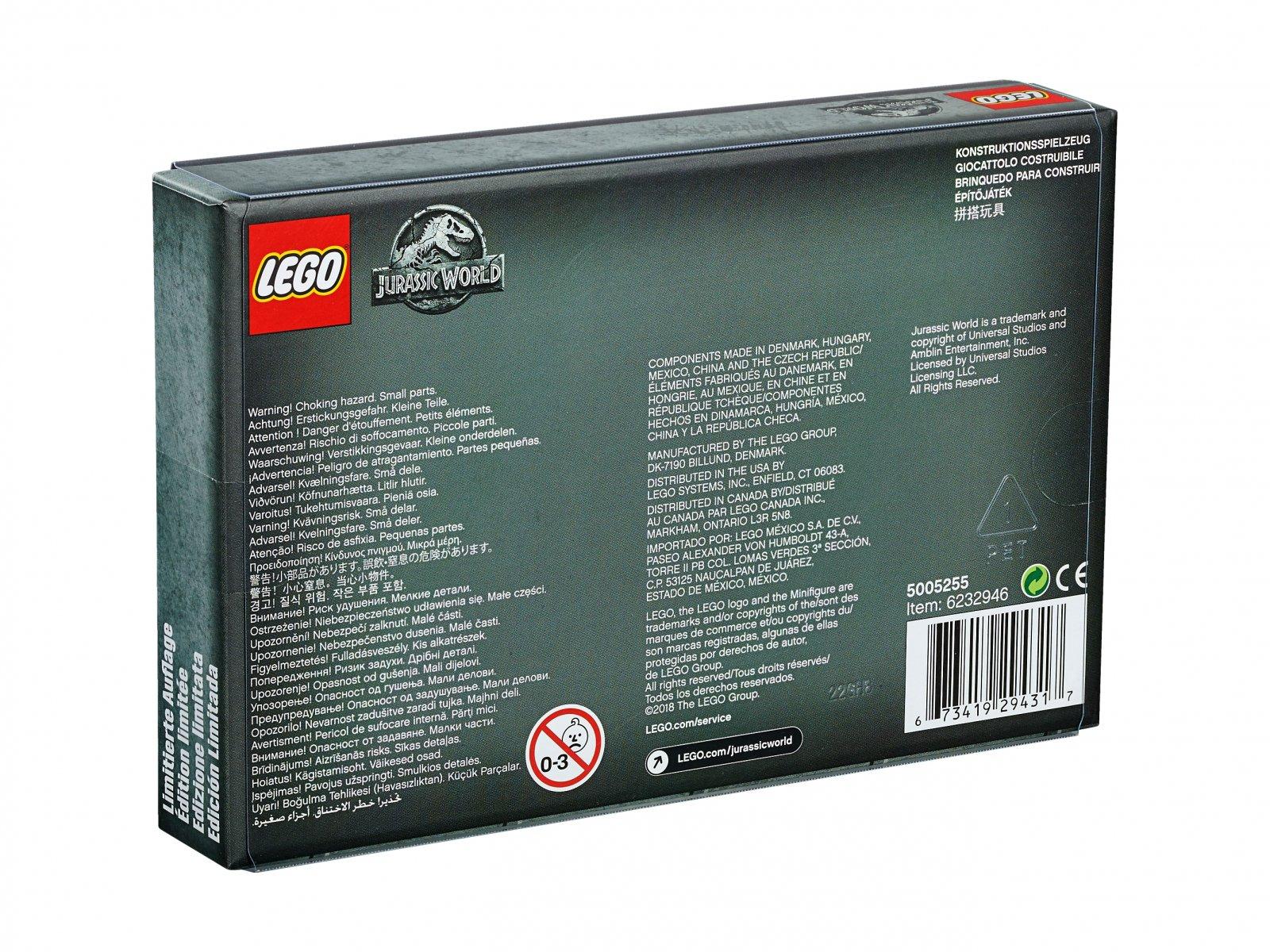 LEGO Jurassic World™ Bricktober Jurassic World™ 5005255