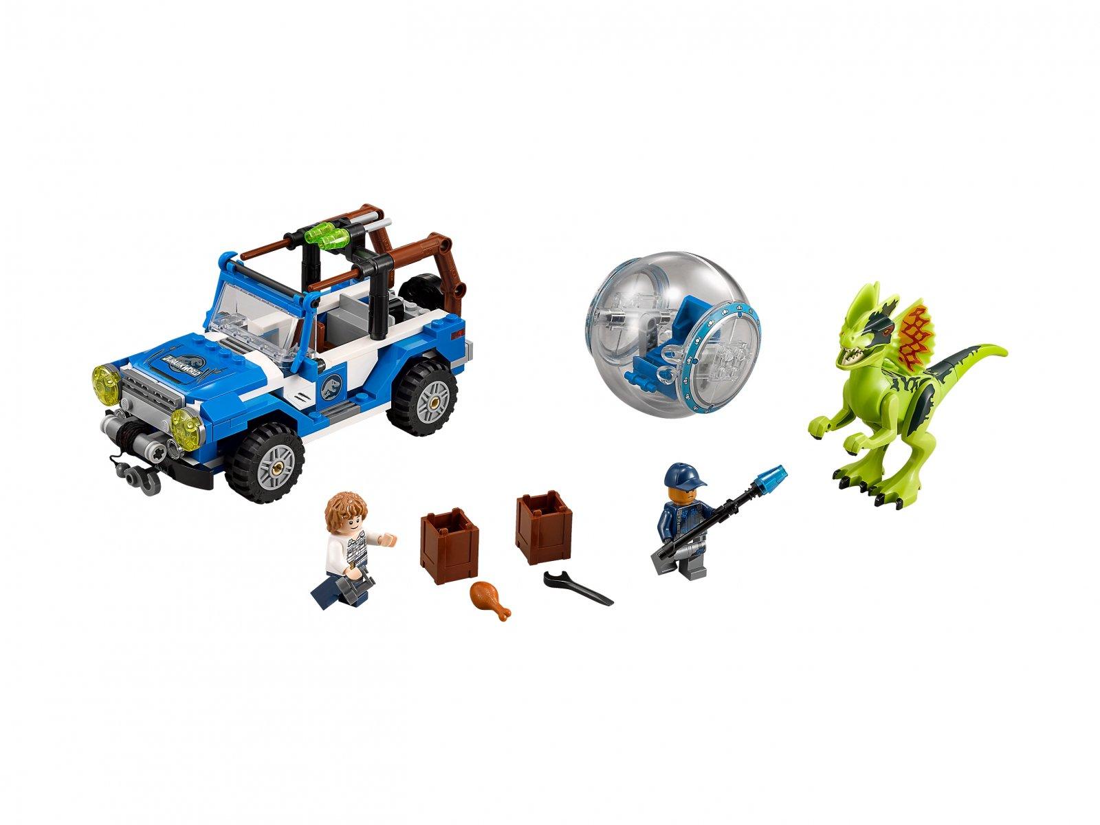 LEGO 75916 Zasadzka dilofozaura