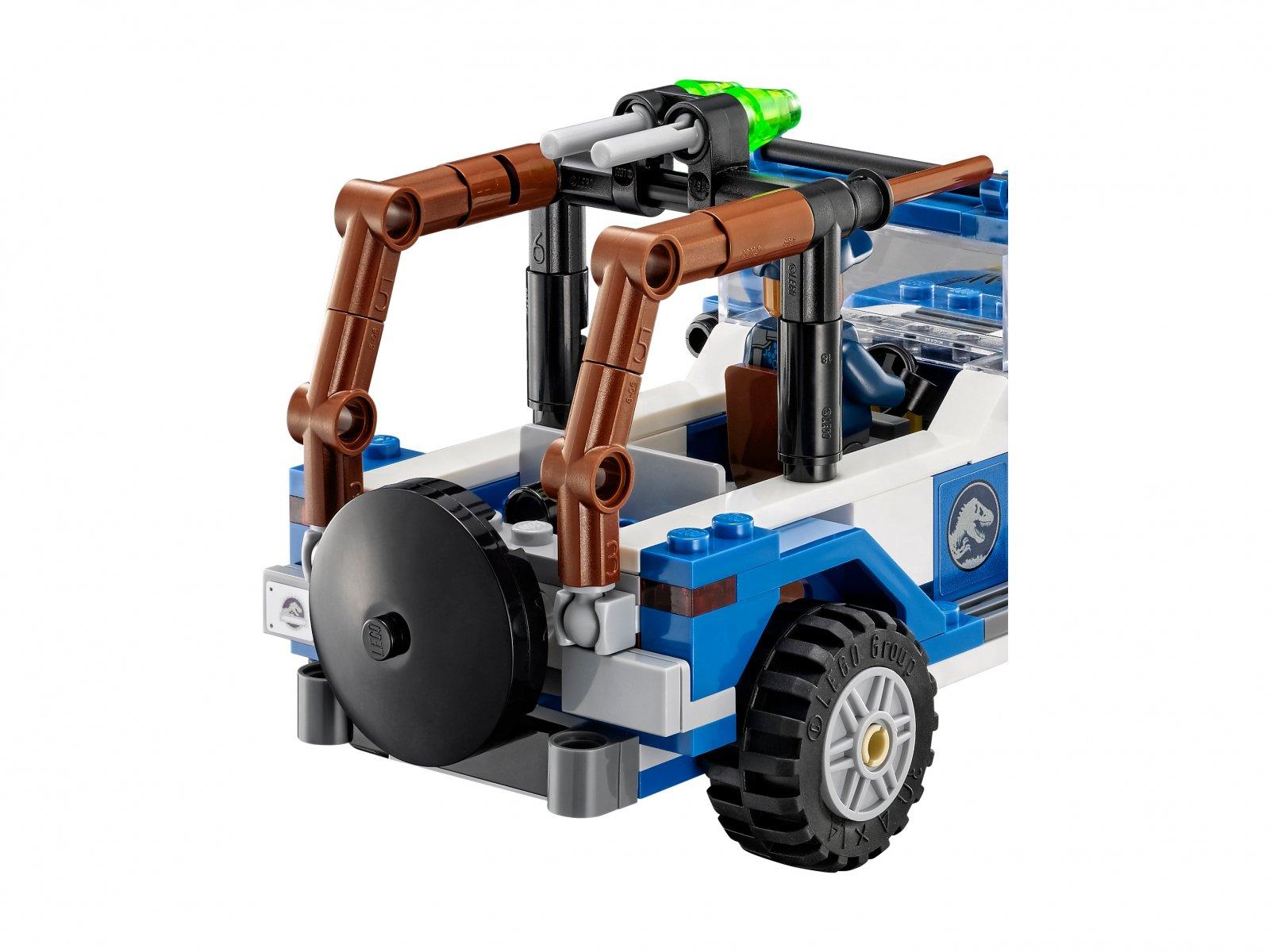 LEGO Jurassic World™ Zasadzka dilofozaura