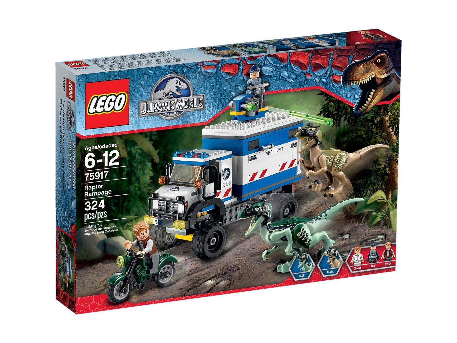 LEGO Jurassic World™ 75917 Szaleństwo raptora