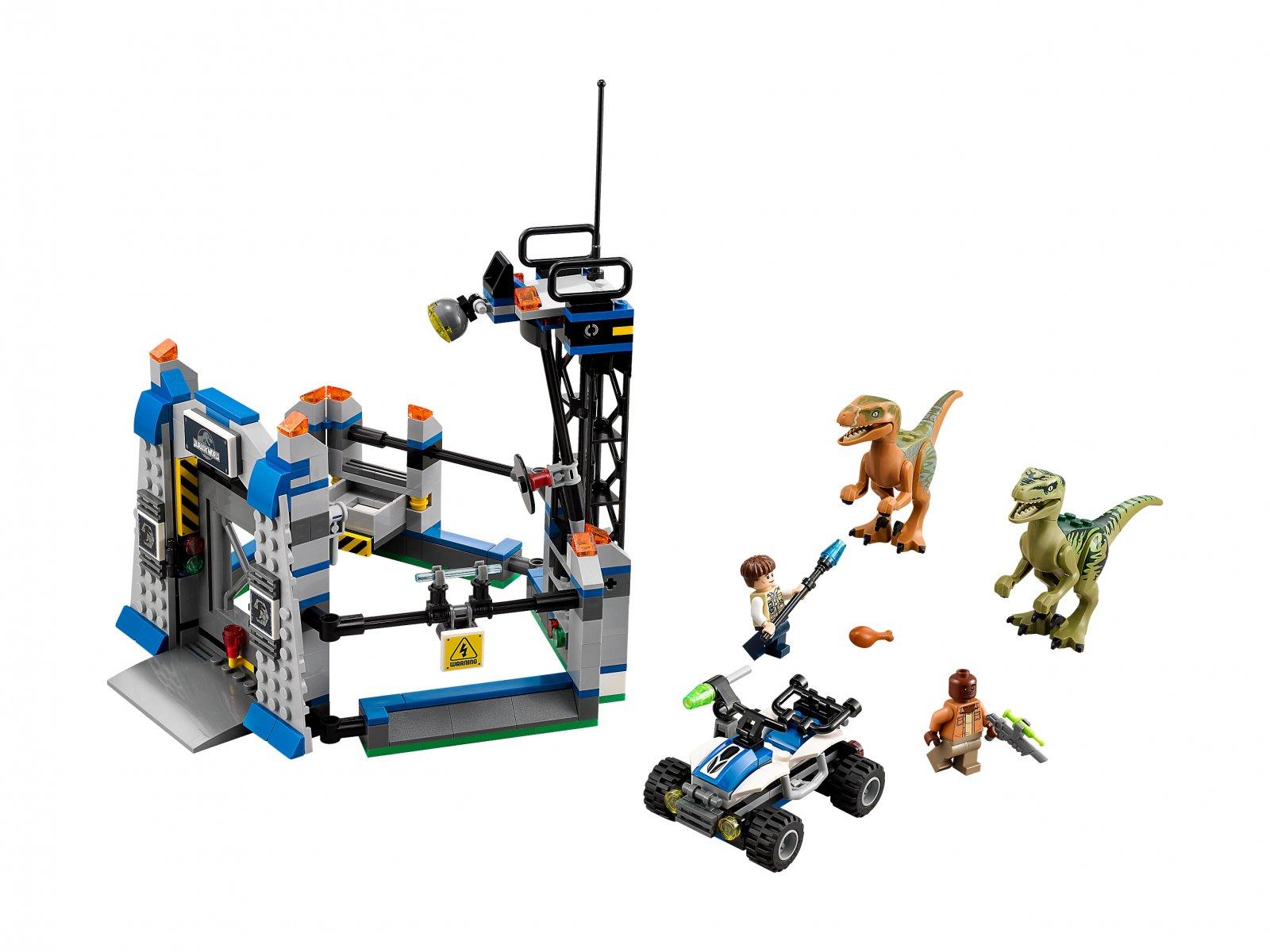 LEGO Jurassic World™ Ucieczka raptora 75920