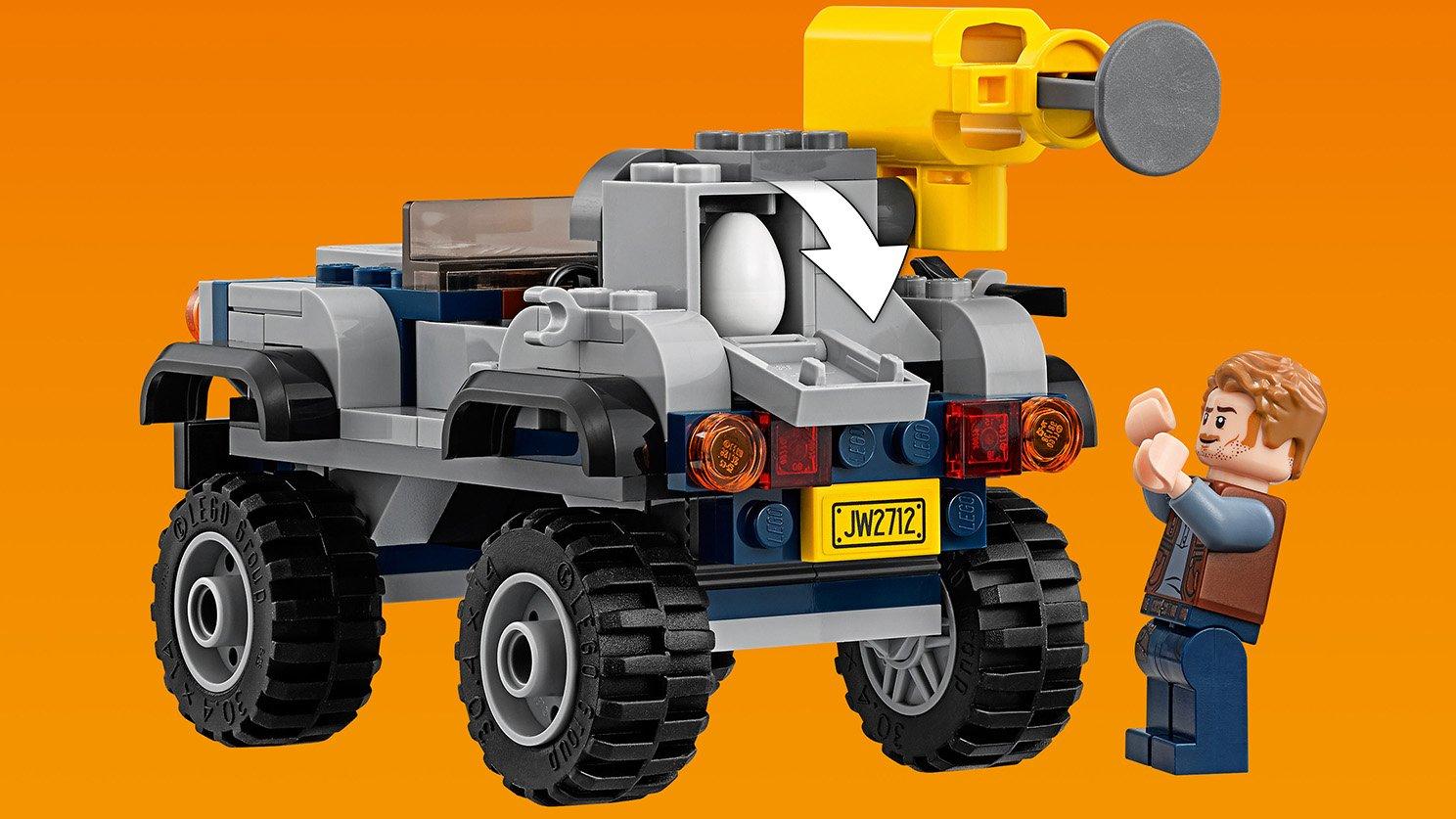 LEGO 75926 Pościg za pteranodonem