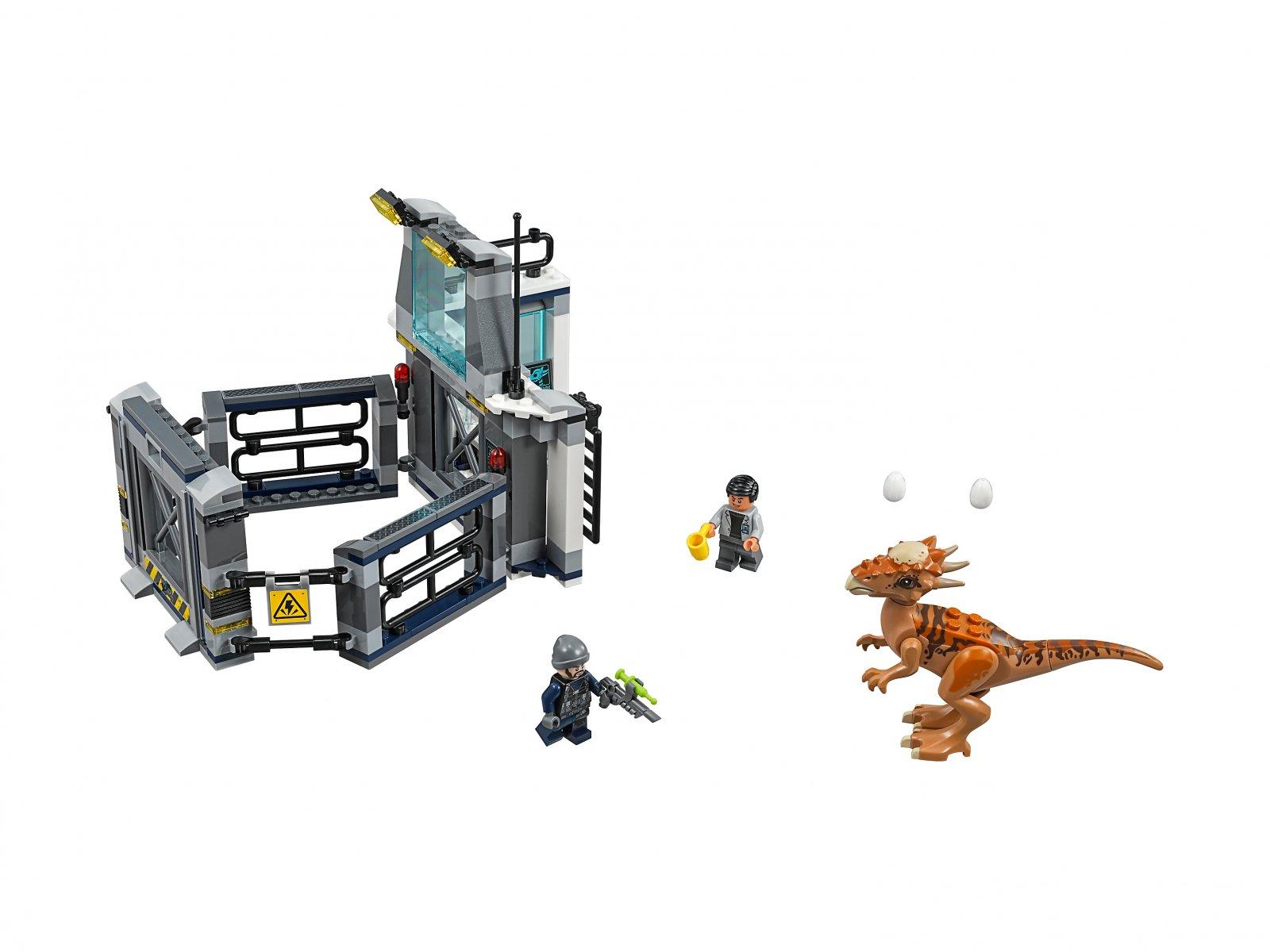 LEGO Jurassic World™ Ucieczka z laboratorium ze stygimolochem 75927