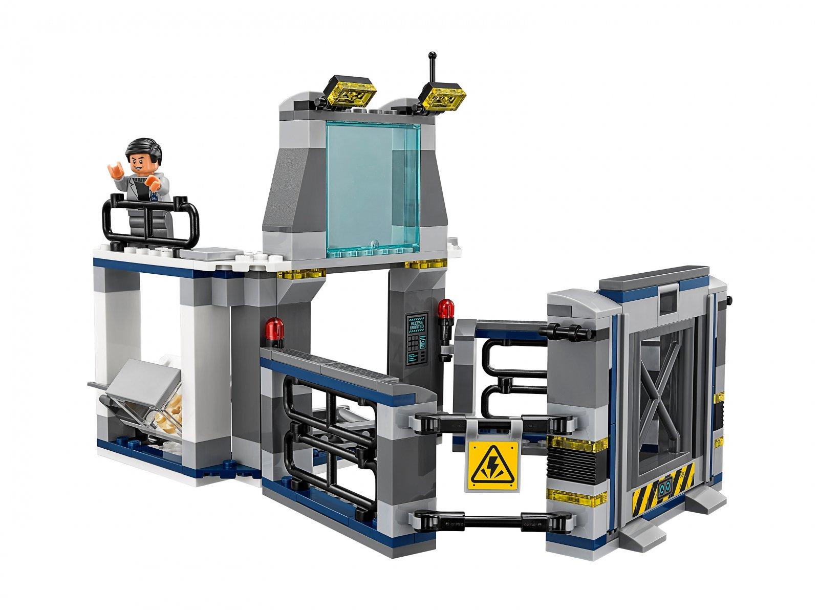 LEGO 75927 Jurassic World™ Ucieczka z laboratorium ze stygimolochem