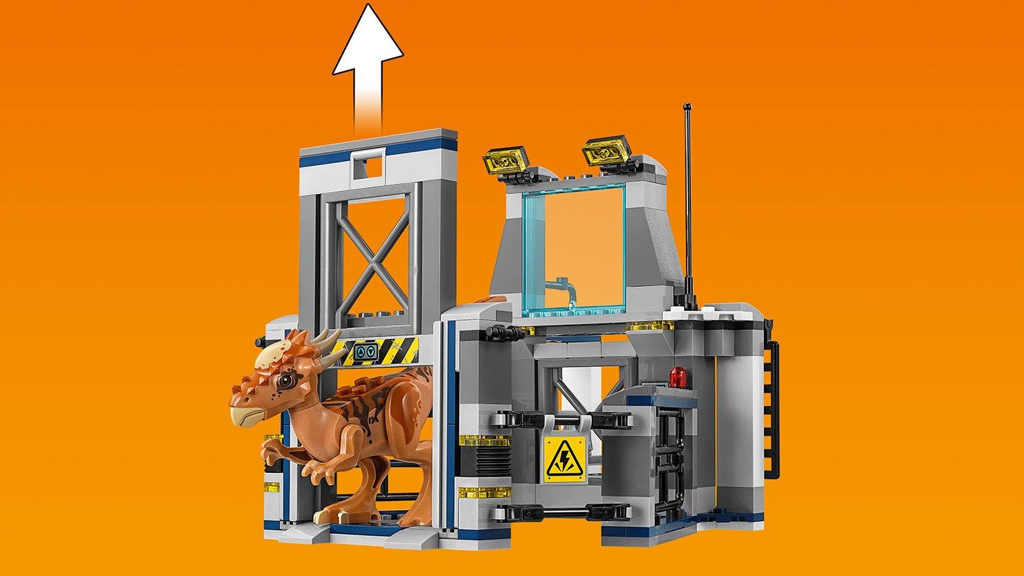 LEGO Jurassic World™ 75927 Ucieczka z laboratorium ze stygimolochem