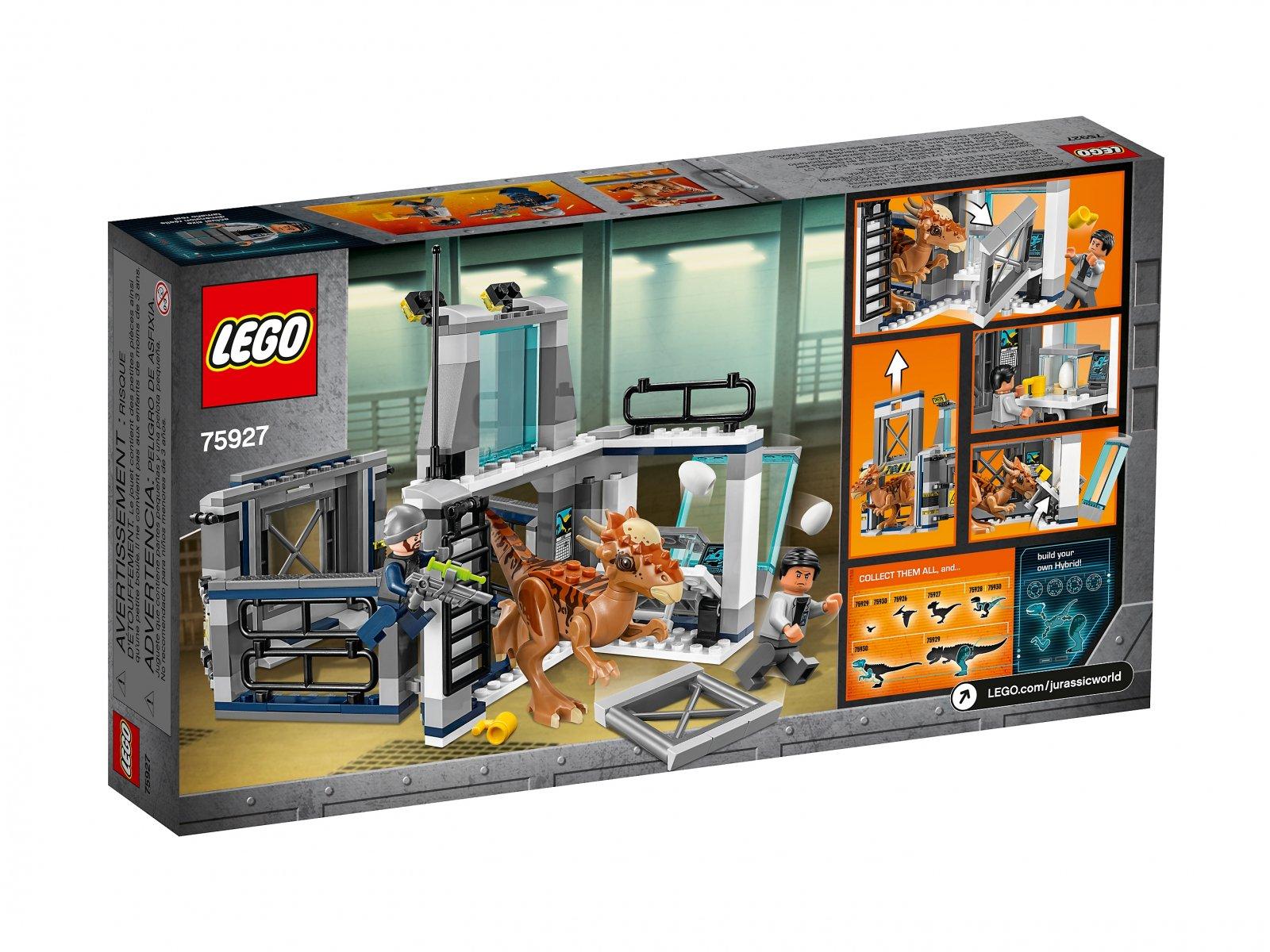 LEGO Jurassic World™ Ucieczka z laboratorium ze stygimolochem
