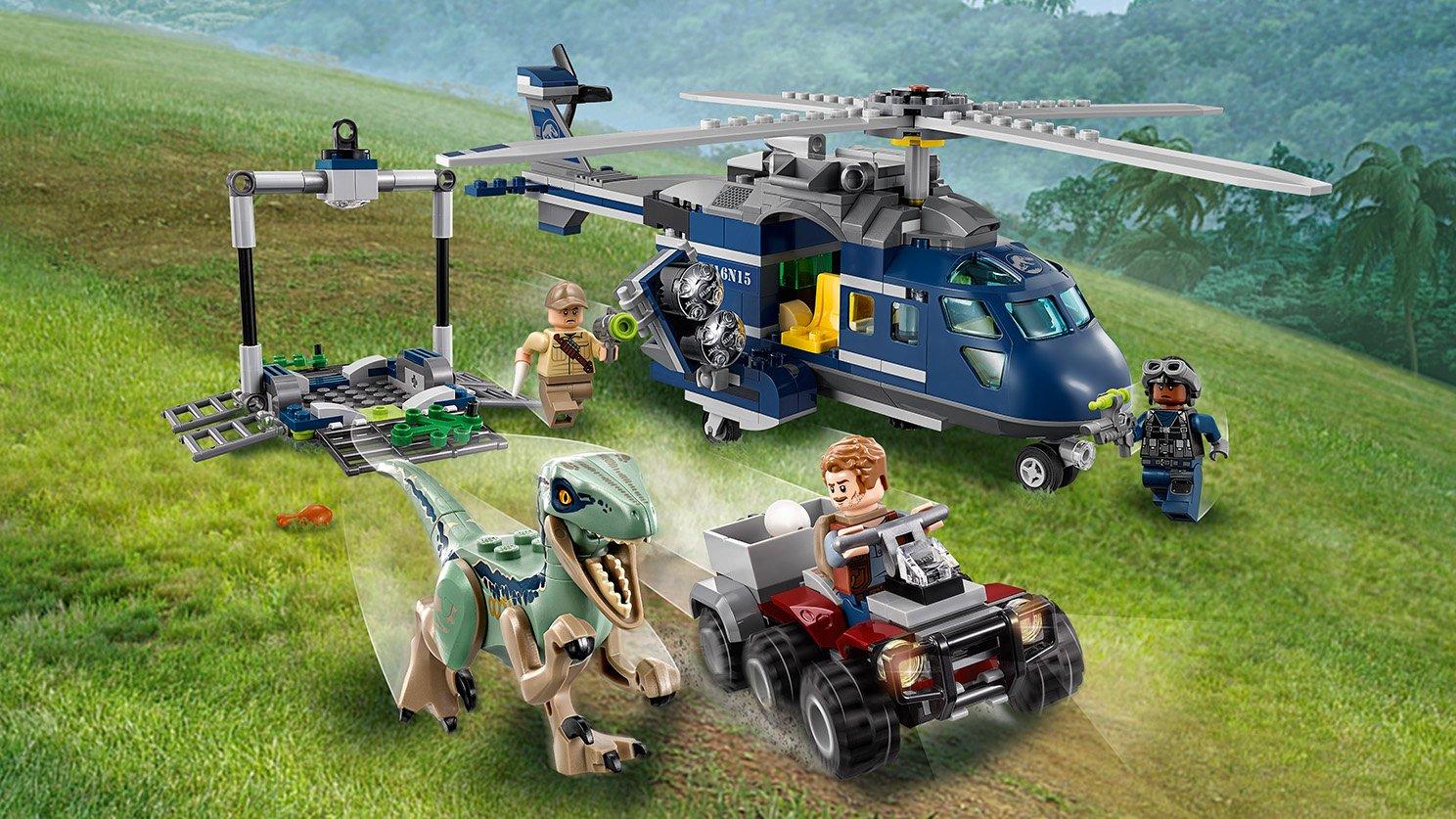 LEGO 75928 Pościg za śmigłowcem