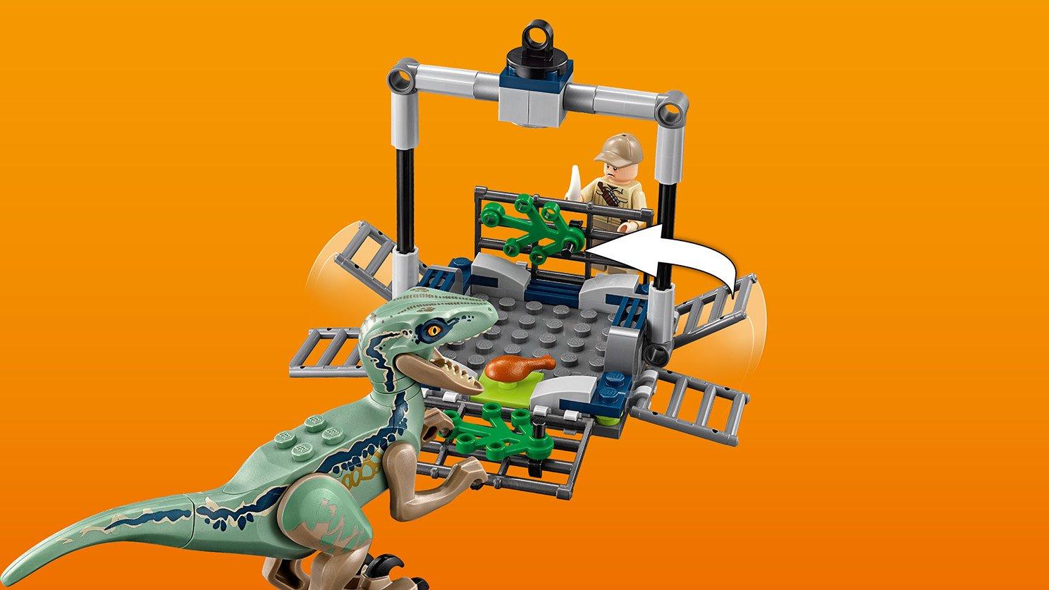 LEGO 75928 Jurassic World™ Pościg za śmigłowcem