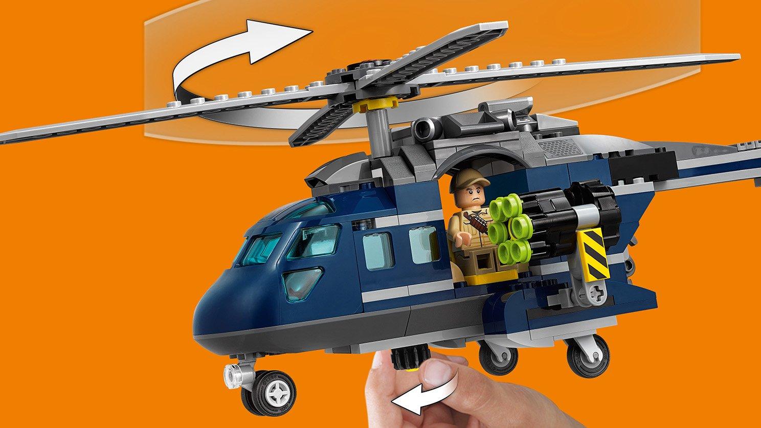 LEGO Jurassic World™ Pościg za śmigłowcem