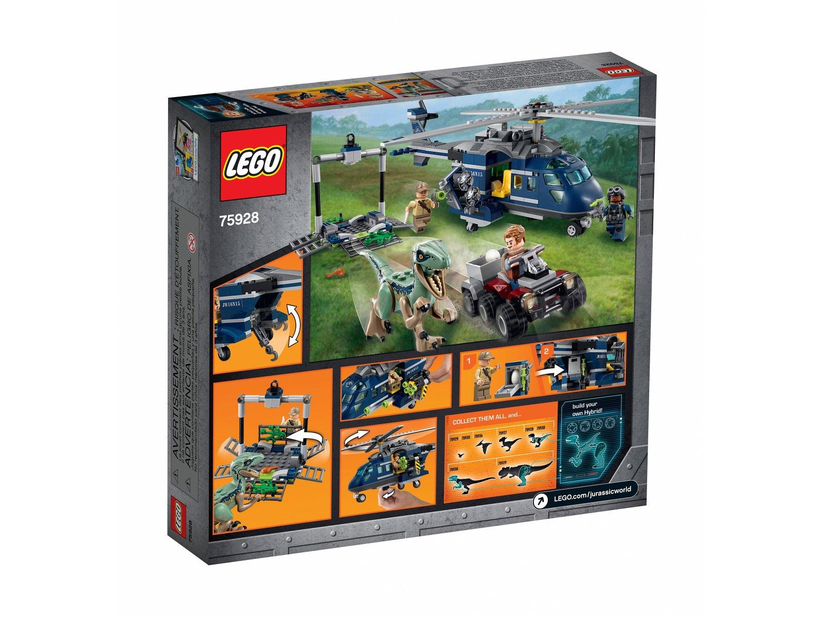 LEGO Jurassic World™ Pościg za śmigłowcem 75928