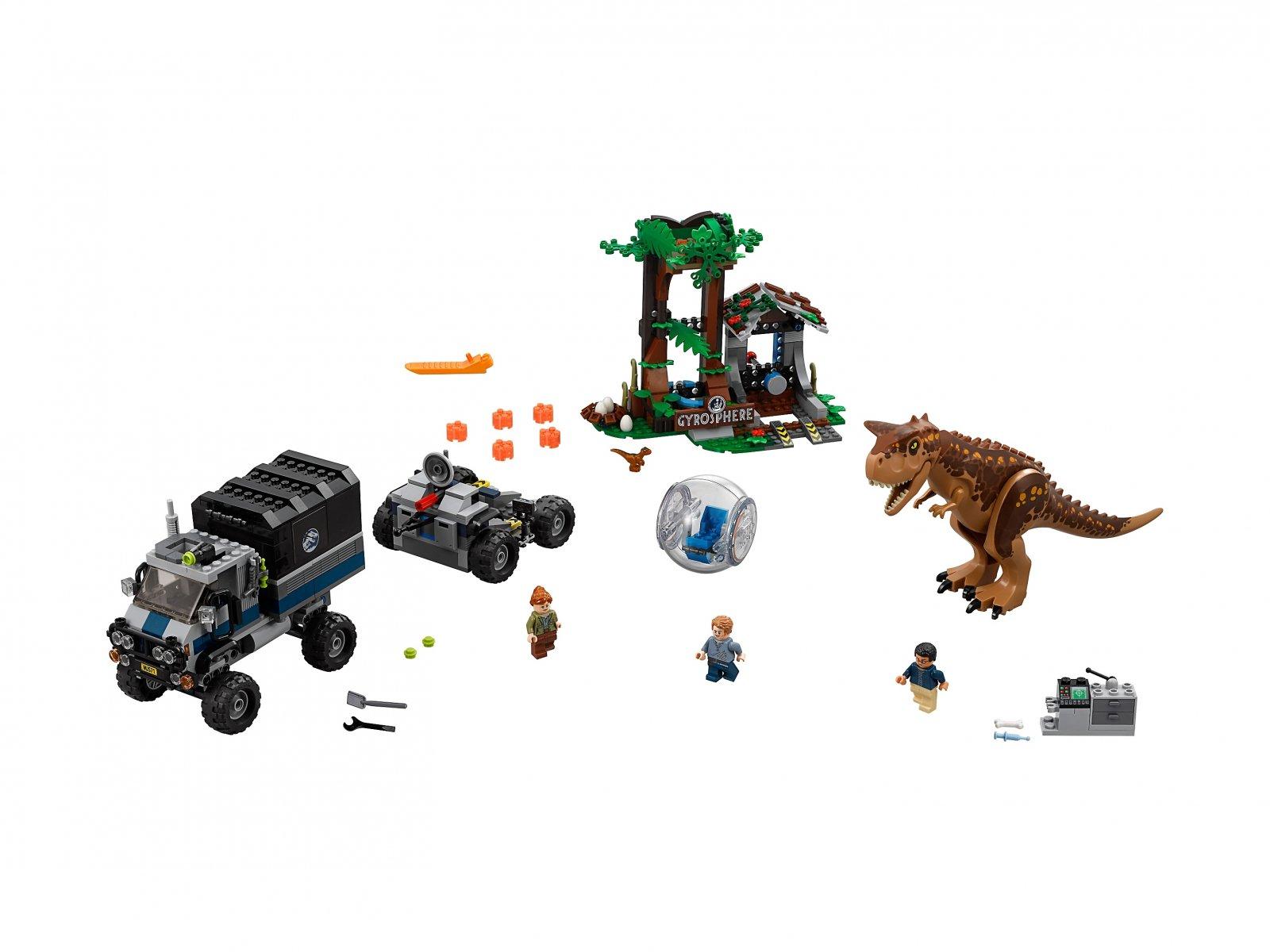 LEGO Jurassic World™ Ucieczka przed karnotaurem