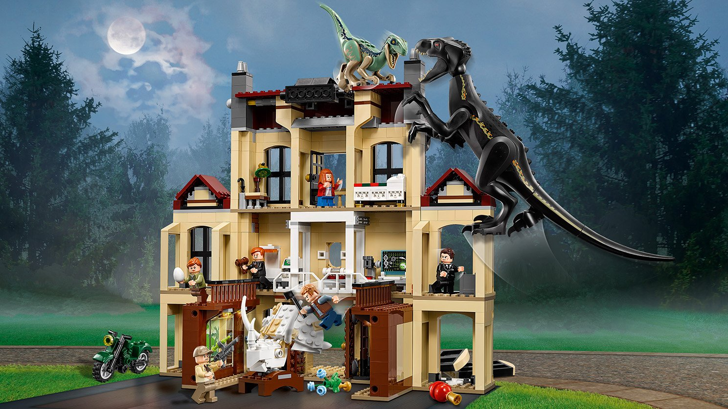LEGO Jurassic World™ 75930 Atak indoraptora