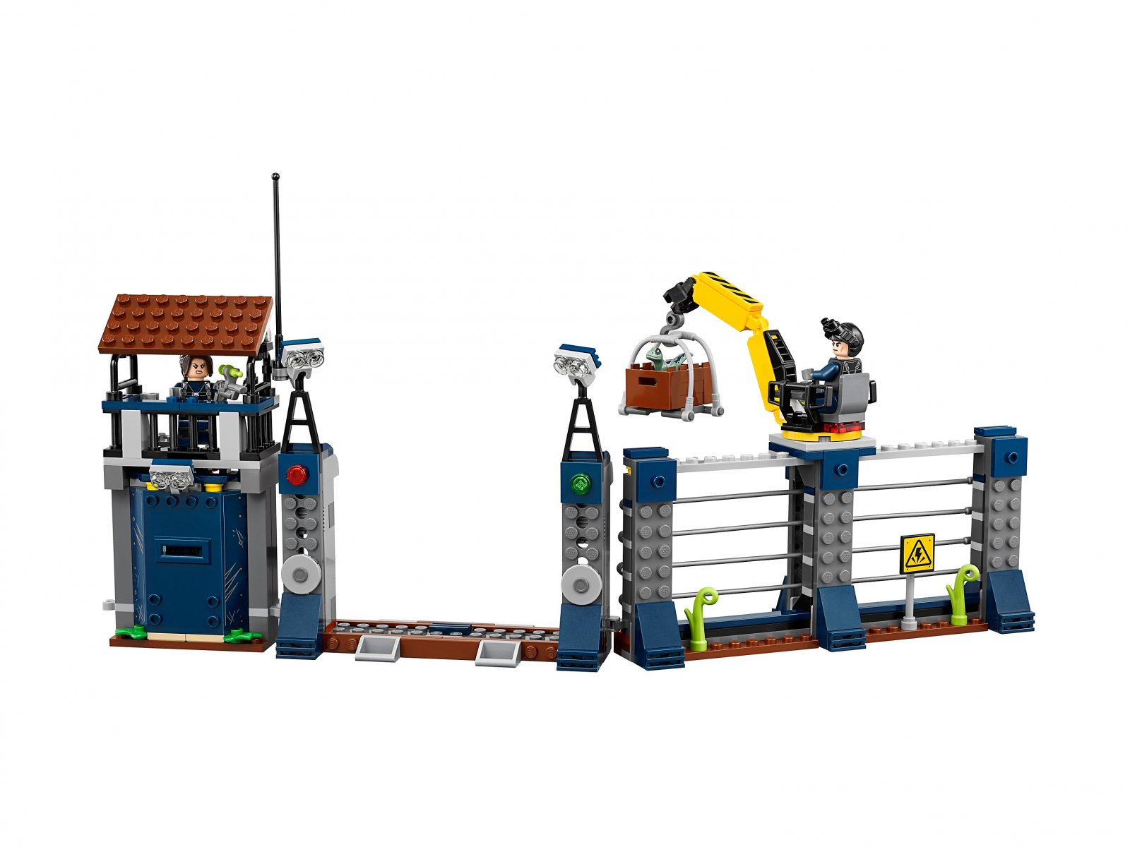 LEGO Jurassic World™ Atak dilofozaura na posterunek