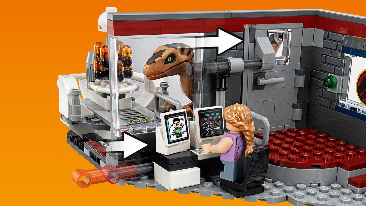 LEGO Jurassic World™ Pościg raptorów
