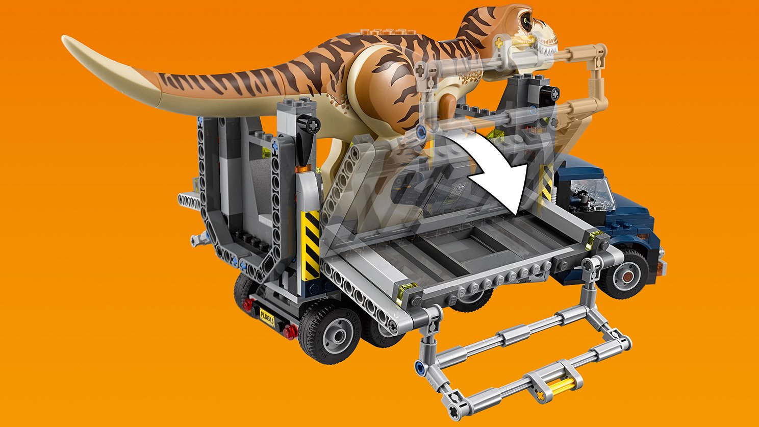 LEGO Jurassic World™ Transport tyranozaura