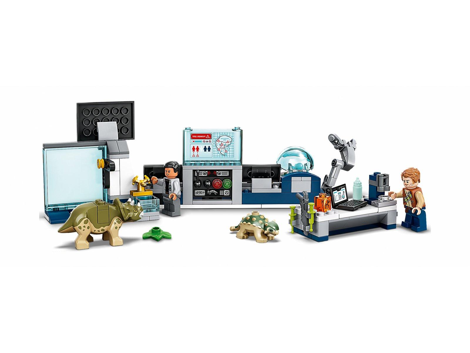 LEGO 75939 Laboratorium doktora Wu: ucieczka młodych dinozaurów