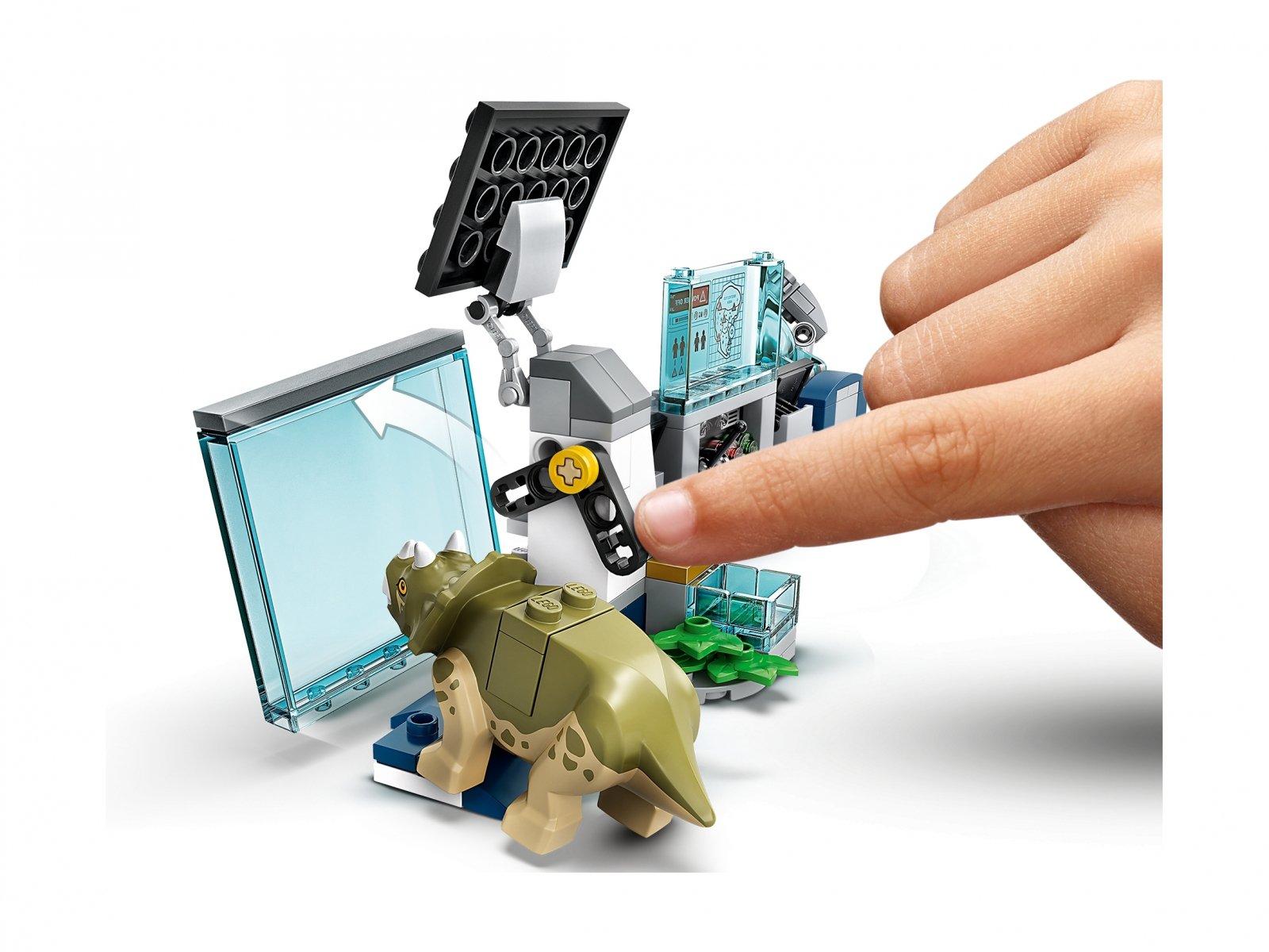 LEGO 75939 Jurassic World Laboratorium doktora Wu: ucieczka młodych dinozaurów