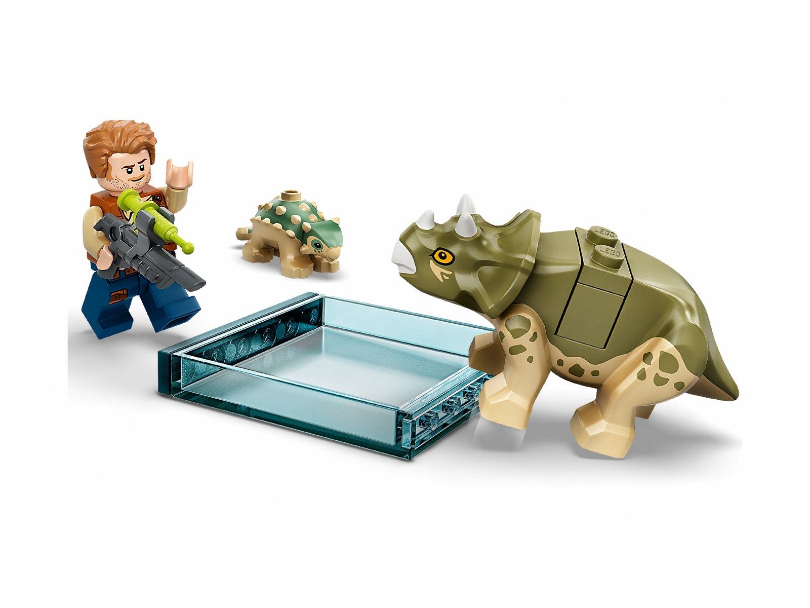 LEGO Jurassic World 75939 Laboratorium doktora Wu: ucieczka młodych dinozaurów