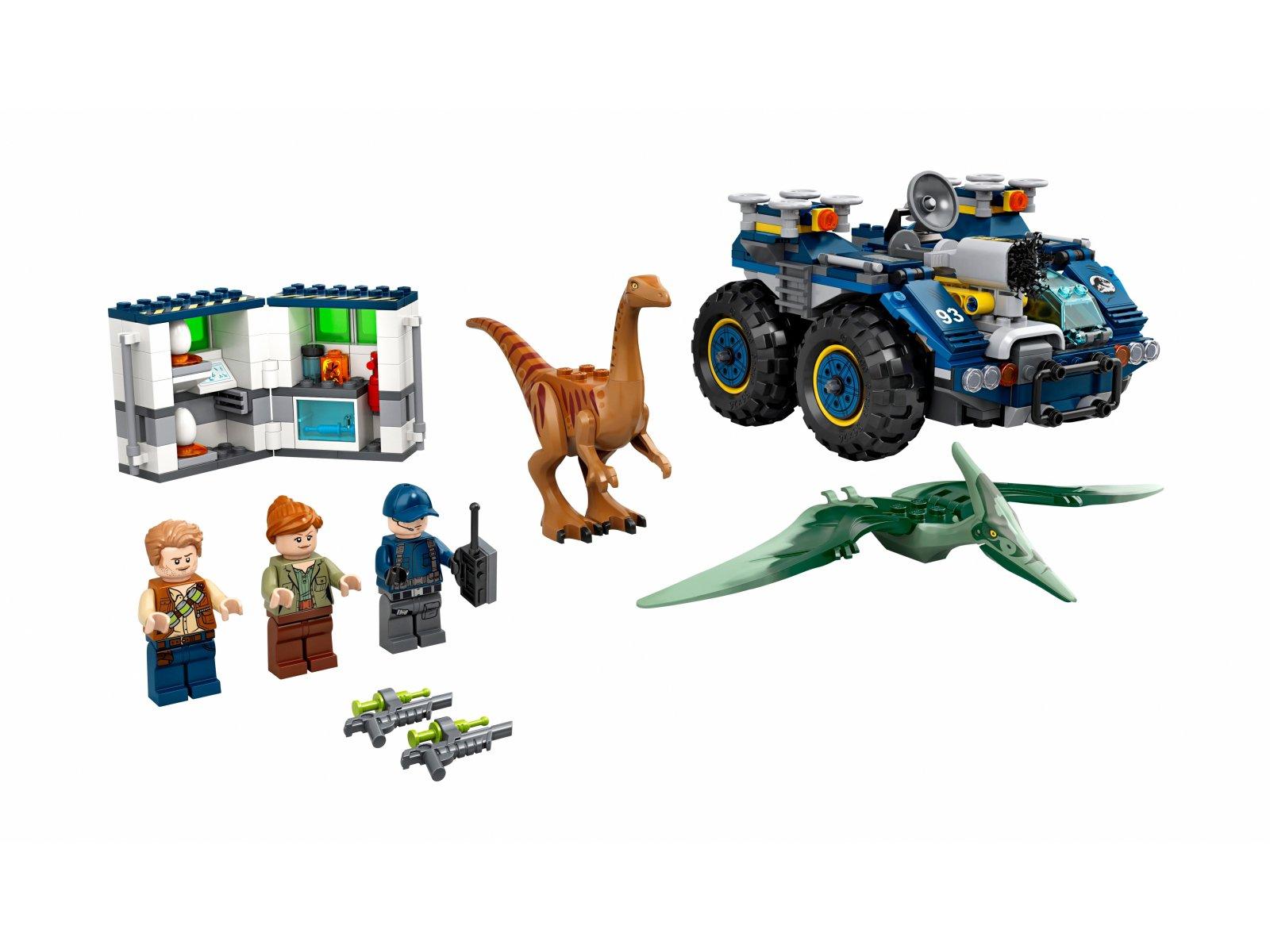 LEGO Jurassic World™ 75940 Gallimim i pteranodon: ucieczka