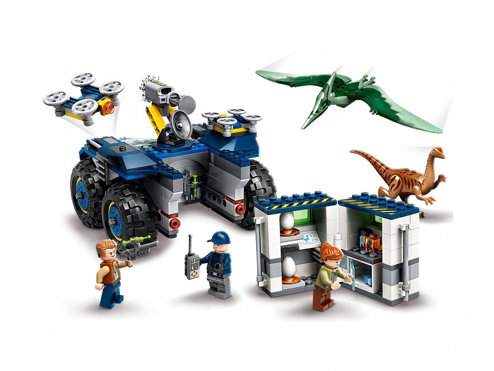 LEGO 75940 Jurassic World™ Gallimim i pteranodon: ucieczka