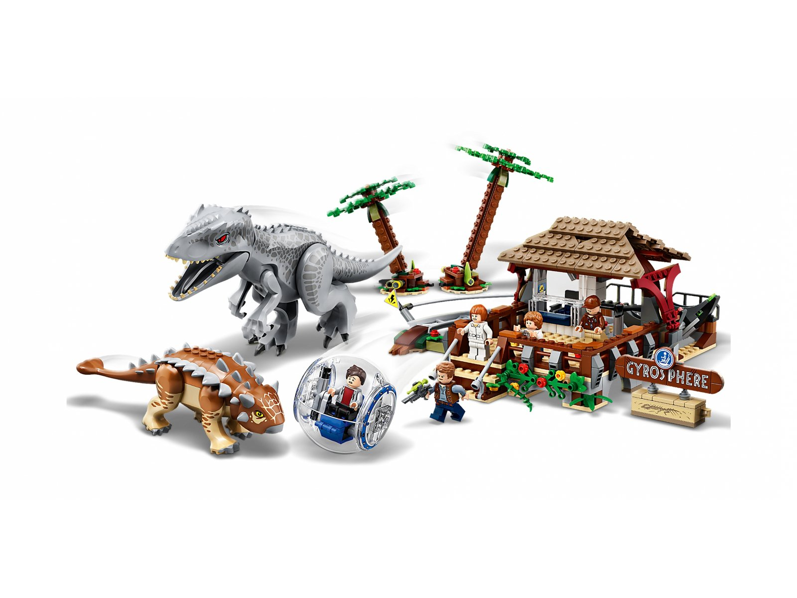 LEGO 75941 Indominus Rex kontra ankylozaur