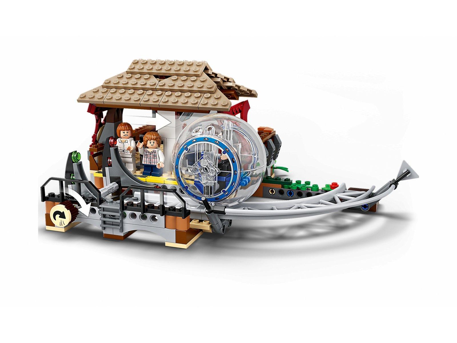 LEGO 75941 Jurassic World Indominus Rex kontra ankylozaur